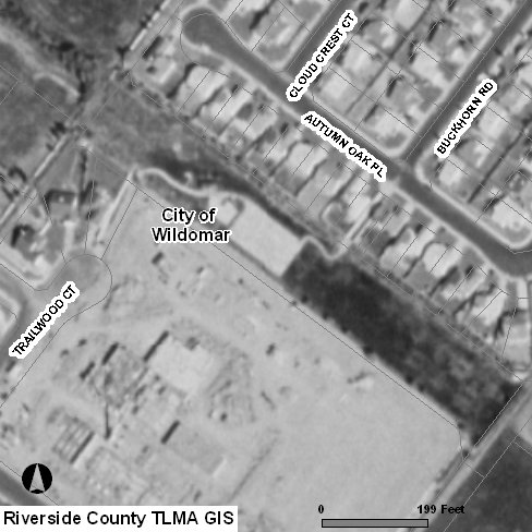 Aerial photo taken in 1996