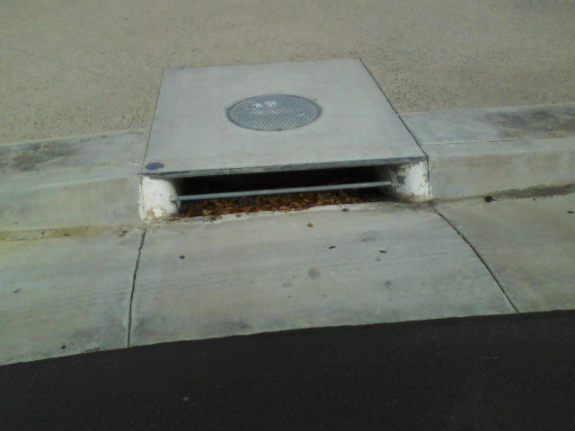 """ONLY RAIN IN THE DRAIN"" marked as required or not"