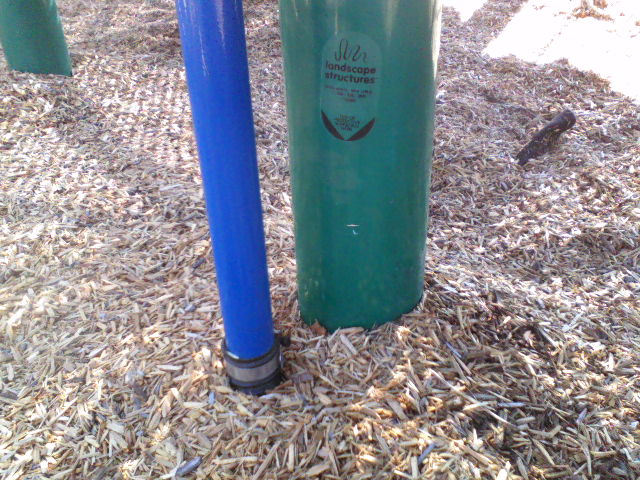 How about 2 hose clamps in the same park.
