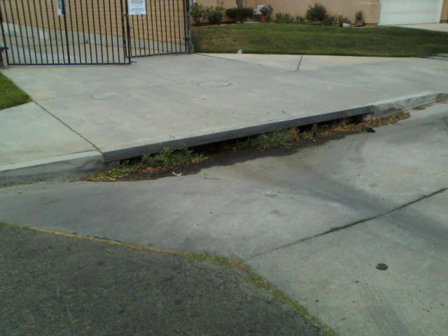 Storm drain on Autumn Oak Pl. Measure Z funds or ?