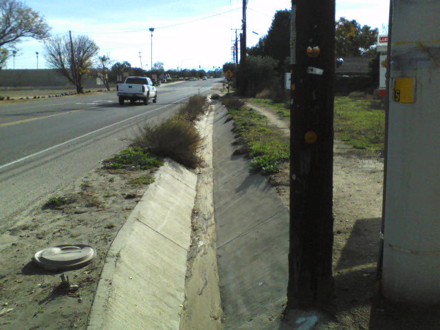 Standing at the edge of Wildomar, the corner of Richard Street and Grand Ave looking southeast